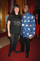 MR & MRS ORLANDO HAMILTON at Eterna - The Sand of Gobi a fashion show featuring fashion from Mongolia to honour the official visit of the President of Mongolia to the UK held at Lancaster House, London on 16th April 2007.<br />