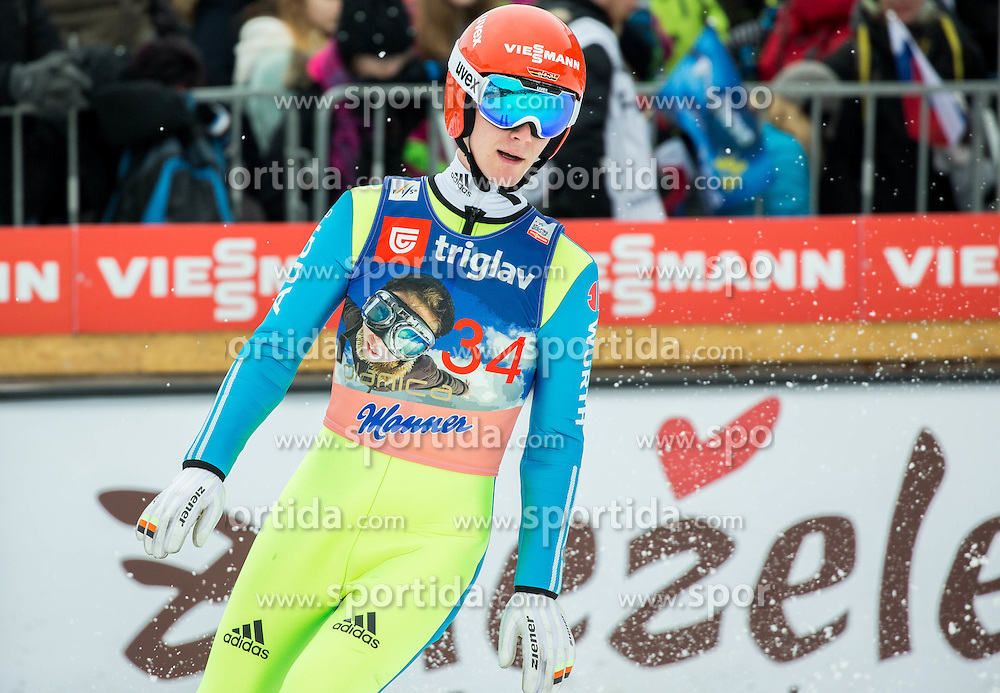 Stephan Leyhe (GER) during the Ski Flying Hill Individual Competition at Day 1 of FIS Ski Jumping World Cup Final 2016, on March 17, 2016 in Planica, Slovenia. Photo by Vid Ponikvar / Sportida