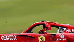 """November 10, 2018 - SãO Paulo, Brazil - SÃO PAULO, SP - 10.11.2018: GRANDE PRÊMIO DO BRASIL DE FÃ""""RMULA 1 2018 - Kimi Räikkönen (RAIKKONEN), FIN, Team Scuderia Ferrari during the official training for the Brazilian Grand Prix of Formula 1 2018, held at the Autodromo de Interlagos, in São Paulo, SP. (Credit Image: © Rodolfo Buhrer/Fotoarena via ZUMA Press)"""