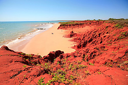 The brilliant colours of James Price Point on the Kimberley coast