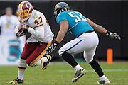 Washington Redskins tight end Chris Cooley (47) during the Redskins 20-17 overtime win over the Jacksonville Jaguars at EverBank Field on Dec. 26, 2010 in Jacksonville, Fl. ©2010 Scott A. Miller