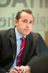 Andrew Davies Head of Risk for Hitachi Capital Leeds .10th October 2011. Image © Paul David Drabble