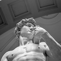 The David, Renaissance masterpiece of Michelangelo