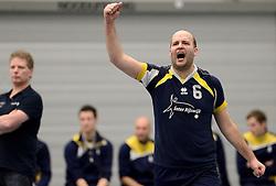 08-03-2014 NED: Gemini S - Inter Rijswijk, Hilversum<br /> In de Topdivisie doet Rijswijk goede zaken door Gemini met 3-0 te verslaan / Harold Vlijm
