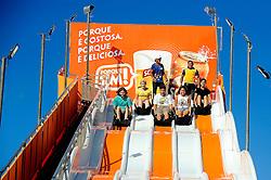 Tobagã no Planeta Atlântida 2014/SC, que acontece nos dias 17 e 18 de janeiro de 2014 no Sapiens Parque, em Florianópolis. FOTO: Vinícius Costa/ Agência Preview