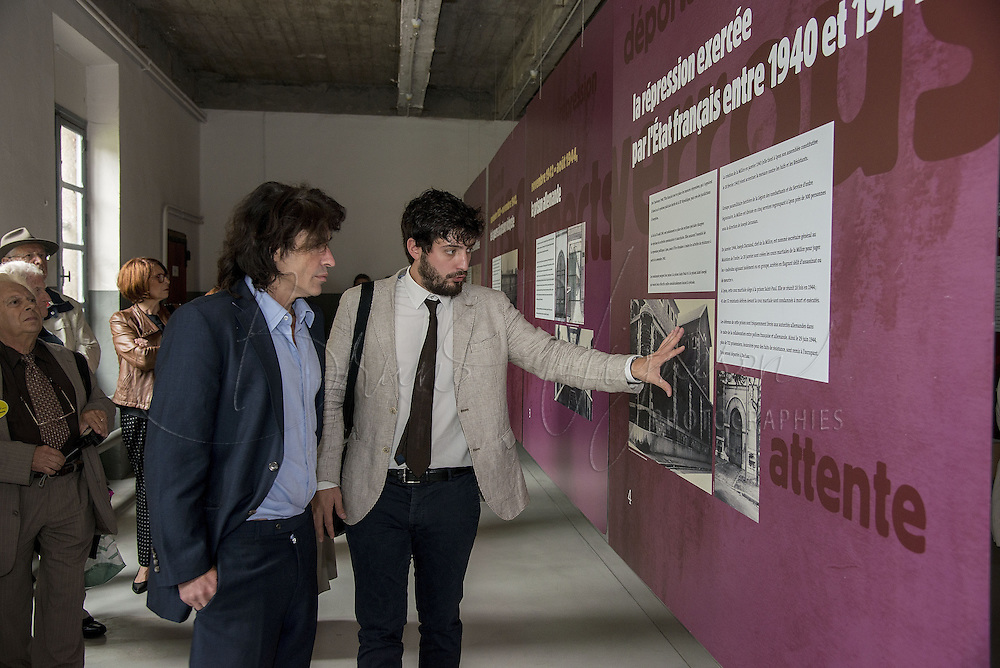 Arnaud Klarsfeld &amp; Antoine Grande (onac)<br />