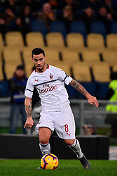 03.02.2019, Stadio Olimpico, Rom, ITA, Serie A, AS Roma vs AC Milan, 22. Runde, im Bild suso // suso during the Seria A 22th round match between AS Roma and AC Milan at the Stadio Olimpico in Rom, Italy on 2019/02/03. EXPA Pictures &copy; 2019, PhotoCredit: EXPA/ laPresse/ Alfredo Falcone<br /> <br /> *****ATTENTION - for AUT, SUI, CRO, SLO only*****