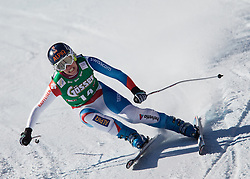 12.01.2013, Karl Schranz Abfahrt, St. Anton, AUT, FIS Weltcup Ski Alpin, Abfahrt, Damen im Bild Dominique Gisin (SUI) // Dominique Gisin of Switzerland in action during ladies Downhill of the FIS Ski Alpine World Cup at the Karl Schranz course, St. Anton, Austria on 2013/01/12. EXPA Pictures © 2013, PhotoCredit: EXPA/ Johann Groder