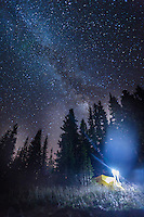 Camping in the mountains under the stars can shed light on all sorts of mysterious surprises.