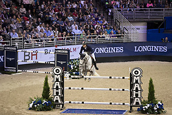 Fuchs Martin, SUI, Clooney<br /> Round 2<br /> Longines FEI World Cup Jumping, Omaha 2017 <br /> © Hippo Foto - Dirk Caremans<br /> 01/04/2017