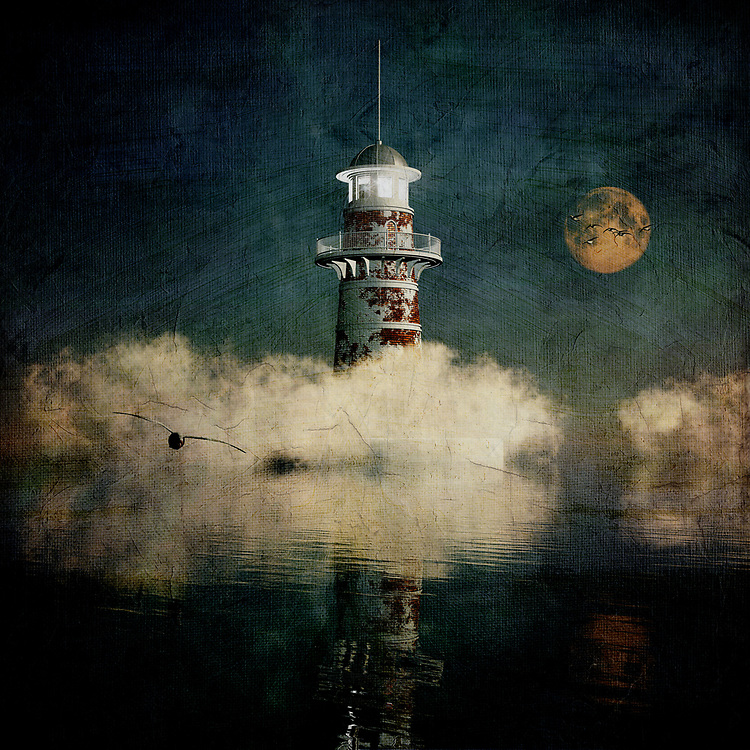 There is something provocative and alluring about this lighthouse. There is also something about it that one might describe as sinister. Why is that the case? Perhaps it's because we can't see everything around the lighthouse. We can't explore beyond what we are seeing. We can only begin to imagine the world in which this lighthouse exists. We can see that the lighthouse has experienced much in the way of history. We can see that it has seen better days. At the same time, it is a powerful monument to the consistency of humankind. It is a powerful image that takes us to some very interesting places. <br />