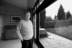 NIVELLES, BELGIUM - MARCH-10-2006 - Bernhard Adriaensens , Managing Director of the World Federation of Advertisers at his home in Nivelles, Belgium .(PHOTO © JOCK FISTICK)