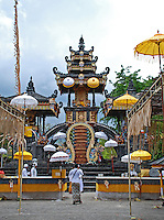 The magnificent temple of good luck in Biz, Bali, Indonesia.
