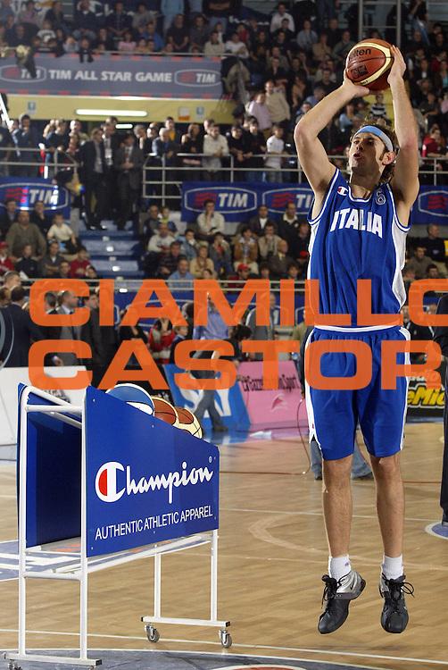 DESCRIZIONE : TORINO TIM ALLSTAR GAME 2004-2005<br /> GIOCATORE : GALANDA<br /> SQUADRA : ITALIA<br /> EVENTO : TIM ALLSTAR GAME 2004-2005<br /> GARA : ITALIA-SELEZIONE ALL STAR<br /> DATA : 11/12/2004<br /> CATEGORIA : <br /> SPORT : Pallacanestro<br /> AUTORE : Agenzia Ciamillo-Castoria/E.Pozzo