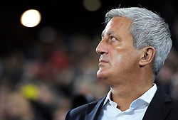 05.09.2015, St. Jakob Park, Basel, SUI, UEFA Euro 2016 Qualifikation, Schweiz vs Slowenien, Gruppe E, im Bild Coach Vladimir Petkovic (SUI) // during the UEFA EURO 2016 qualifier group E match between Switzerland and Slovenia at the St. Jakob Park in Basel, Switzerland on 2015/09/05. EXPA Pictures © 2015, PhotoCredit: EXPA/ Freshfocus/ Steffen Schmidt<br /> <br /> *****ATTENTION - for AUT, SLO, CRO, SRB, BIH, MAZ only*****