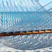 Punta Cana, Dominican Republic - April 14: Hammocks wave in the breeze in the Dominican Republic, April 14, 2007.