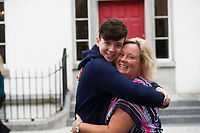 16/08/2017   Evan O'Flaherty 613 (Business in Dublin 2 years and USA 2 years)  and a very proud Mammy Suzanne Ryan from Kinvara  Photo:Andrew Downes, xposure .