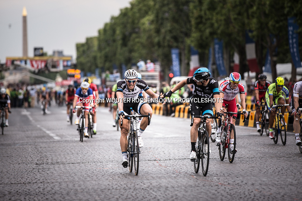 Paris - France - wielrennen - cycling - radsport - cyclisme - Marcel Kittel pictured during stage - 21 of the 101th Tour de France 2014 - from Evrt to Paris -