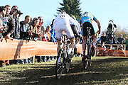 CZECH REPUBLIC / TABOR / WORLD CUP / CYCLING / WIELRENNEN / CYCLISME / CYCLOCROSS / VELDRIJDEN / WERELDBEKER / WORLD CUP / COUPE DU MONDE / #2 / (L-R) MICHAEL VANTHOURENHOUT / TIM MERLIER /