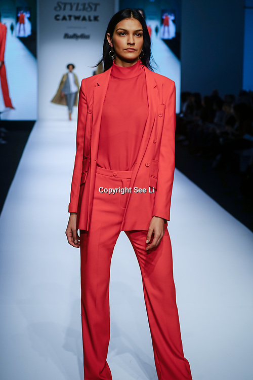 London, England, UK. 10th November 2017. Fashion show at the Stylist Live 2017 at Olympia London.