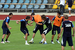 Practice od Dinamo Zagreb day before 1st match of 2nd Qualifying Round of UEFA Champions league between NK Domzale vs HNK Dinamo Zagreb, on July 29, 2008, in Domzale, Slovenia. (Photo by Vid Ponikvar / Sportal Images)