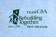 Thue Consumer Bankers Association works with Rebuilding Together to renovate the Bennett residence in Holy Cross after Hurricane Katrina