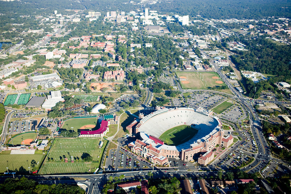 Doak Campbell Stadium is home to the Florida State University football team, the Seminoles. The stadium was built in 1950 but has since gone under several renovations since its opening.