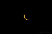 The crescent sun just before totality of the Great American Eclipse in 2017, taken near Nashville, TN.