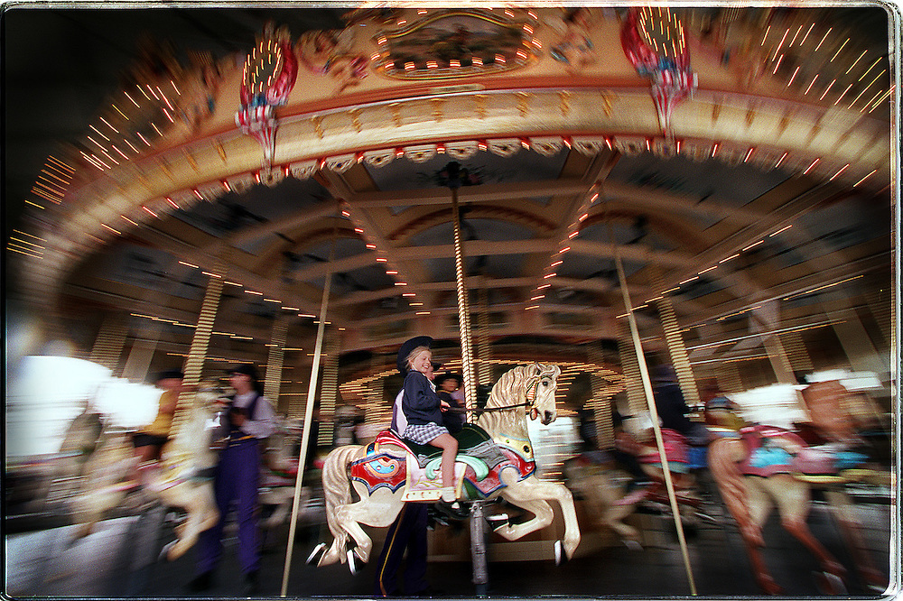 csz011205.001.001.jpg  Picture By Craig Sillitoe.  Elwood Primary School students try out the newly restored carousel at Luna Park, restoration cost $2.2m and took 2 years melbourne photographers, commercial photographers, industrial photographers, corporate photographer, architectural photographers, This photograph can be used for non commercial uses with attribution. Credit: Craig Sillitoe Photography / http://www.csillitoe.com<br />