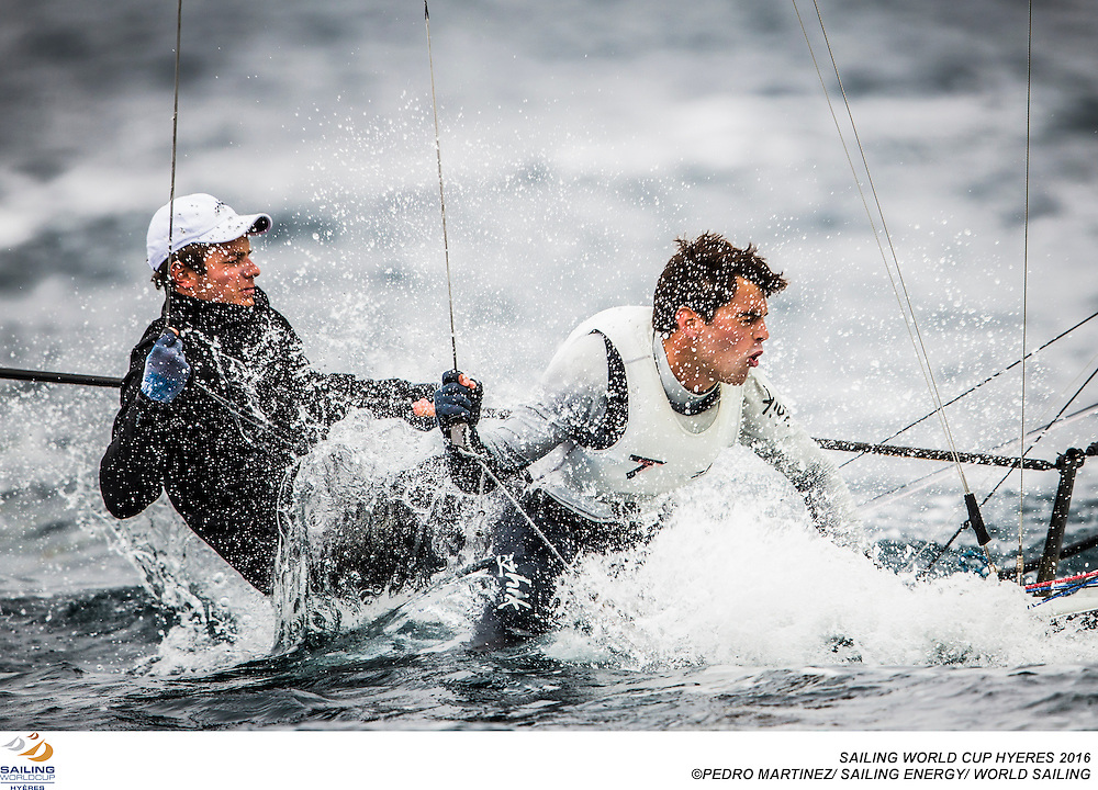 Hy&egrave;res, France will welcome 574 sailors from 47 nations from Wednesday 27 April through to 1 May for the 2016 edition of Sailing World Cup Hy&egrave;res. The third stop on the 2016 series, Hy&egrave;res will host 381 boats across the ten Olympic and two Paralympic fleets and sailors will by vying for World Cup honours, national Olympic selection and a place in Sunday's televised Medal Races.<br /> &copy;Pedro Martinez/Sailing Energy/World Sailing