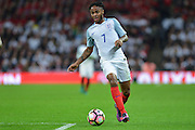 England Forward Raheem Sterling during the International Friendly match between England and Spain at Wembley Stadium, London, England on 15 November 2016. Photo by Mark Davies.