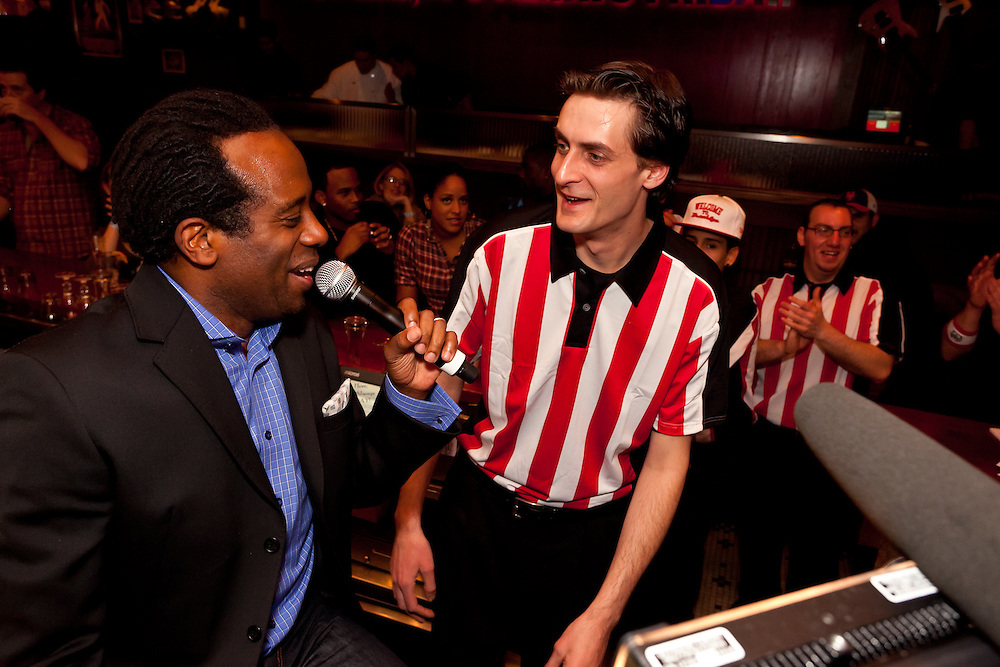 TGI Fridays Grand Re-Opening featuring Ryan Star in Westbury, New York