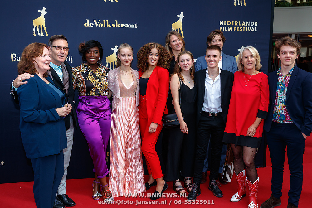 NLD/Utrecht/20180930 - NFF 2018, Première Vechtmeisje, castfoto