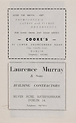 Cooke's,42 Lower Drumcondra Road.Laurence Murray & Sons, Silver Acre, Rathfarnham, Dublin 14