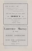Cooke's,42 Lower Drumcondra Road.Laurence Murray & Sons, Silver Acre, Rathfarnham, Dublin 14