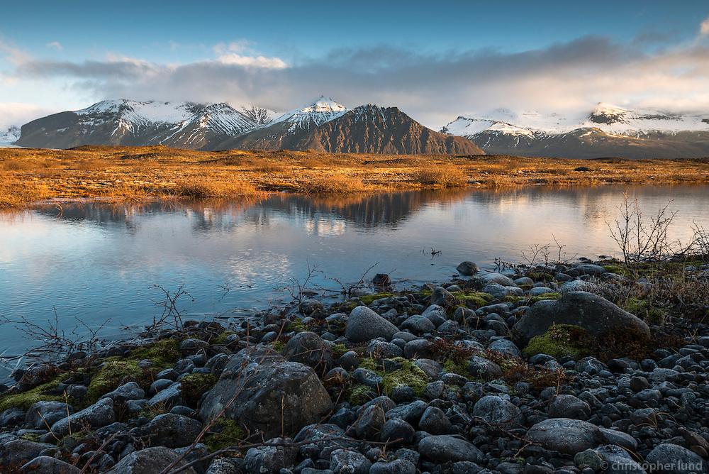 Skaftafell National Park, Southeast Iceland.
