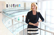 BRENDAN FITTERER  |  Special to the Times<br />Florida Hospital Wesley Chapel President and CEO Denyse Bales-Chubb stands for a portrait along the hospital's third floor atrium view Monday (2/6/17). Florida Hospital Wesley Chapel is the No. 1 employer in the large category for Top Workplaces this year.