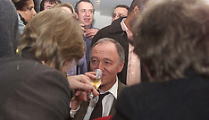 Ken Livingstone Champagne on Election Night 2000