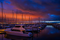 Elliott Bay Marina after the Rain