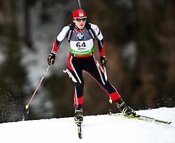 "19.01.2012, Südtirol Arena, Antholz, ITA, E.ON IBU Weltcup, 6. Biathlon, Antholz, Sprint Damen, im Bild Iris Waldhuber (AUT) // Iris Waldhuber (AUT) during Sprint Women E.ON IBU World Cup 6th, ""South Tyrol Arena"", Antholz-Anterselva, Italy on 2012/01/19, EXPA Pictures © 2012, PhotoCredit: EXPA/ Juergen Feichter"