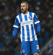 Brighton striker Jiri Skalak during the Sky Bet Championship match between Brighton and Hove Albion and Bolton Wanderers at the American Express Community Stadium, Brighton and Hove, England on 13 February 2016. Photo by Bennett Dean.