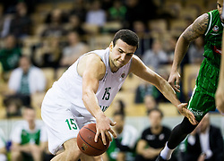 Ljubomir Madenovski of Ilirija during basketball match between KK Ilirija and KK Petrol Olimpija in 10th Round of Nova KBM Basketball League 2017/18, on December 17, 2017 in Hala Tivoli, Ljubljana, Slovenia. Photo by Vid Ponikvar / Sportida