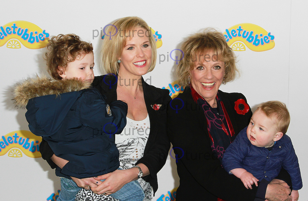 Esther Rantzen, Teletubbies - World Premiere, BFI Southbank, London UK, 25 October 2015, Photo by Brett D. Cove
