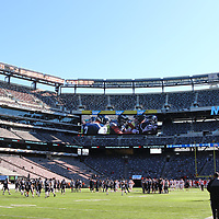 Cortaca Jug 2019.  State University of New York at Cortland Red Dragons vs. Ithaca College Bombers at MetLife Stadium, Meadowlands, New Jersey, on November 16, 2019.