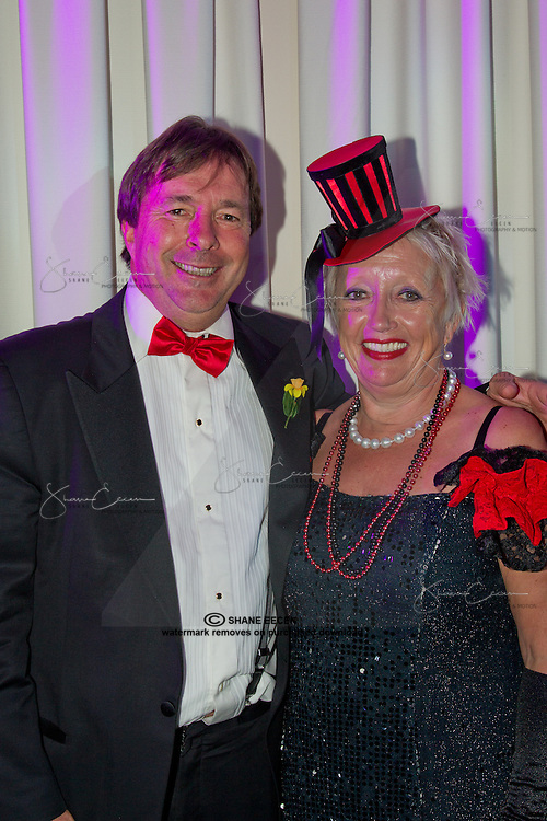 Judge John North & Susie North.Cancer Council Ball 2011. Photo Shane Eecen