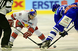 12.09.2010, Dom Sportova, Zagreb, CRO, EBEL, KHL Medvescak Zagreb vs Red Bull Salzburg, im Bild Ryan Duncan, EXPA Pictures © 2010, PhotoCredit: EXPA/ nordphoto/ pixsell/ Slavko Midzor *** ATTENTION *** GERMANY OUT! / SPORTIDA PHOTO AGENCY