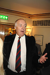 SIR TIM RICE at a tribute lunch for Elaine Paige hosted by the Lady Taverners at The Dorchester, Park Lane, London on 13th November 2007.<br /><br />NON EXCLUSIVE - WORLD RIGHTS