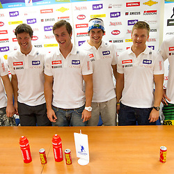 20110822: SLO, Alpine Skiing - Press conference of Slovenian Men Team before training camp in Chile
