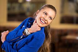 09.03.2016, Tanzschule Breuer, Koeln, GER, Lets Dance, Training, im Bild Victoria Swarovski (22, Saengerin) // during the German Let's Dance, Training at Tanzschule Breuer in Koeln, Germany on 2016/03/09. EXPA Pictures © 2016, PhotoCredit: EXPA/ Eibner-Pressefoto/ Deutzmann<br /> <br /> *****ATTENTION - OUT of GER*****