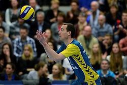 24-03-2013 VOLLEYBAL: ABIANT LYCURGUS - LANDSTEDE VOLLEYBAL: GRONINGEN<br /> Play-off finale best of 5 - Zwolle wint de vierde wedstrijd met 3-2 / Roland Rademaker<br /> &copy;2013-FotoHoogendoorn.nl